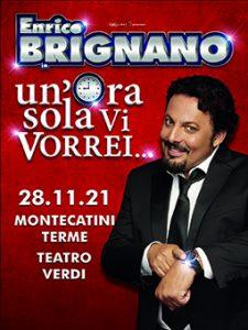Enrico Brignano un'ora sola vi vorrei